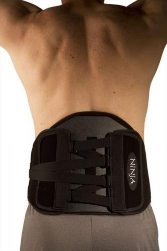 Ninja LSO Spinal Support Large 38''- 43'' (Black)