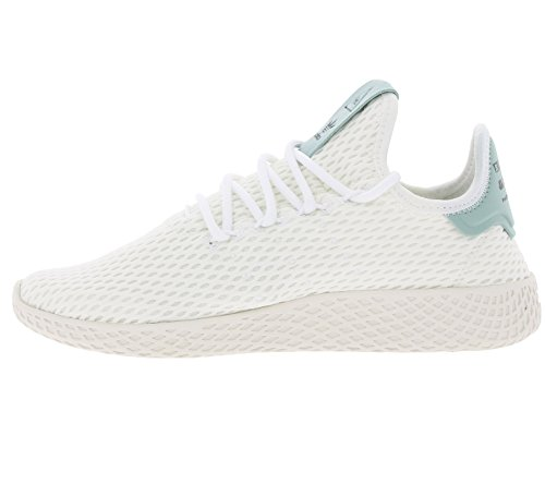 Adidas Originals Pharrell Williams Tennis Hu Vit / Grön Textil 6,5 M Oss Stor Grabb