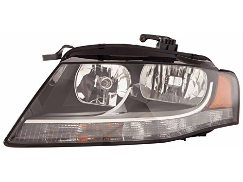 Audi A-4 Sedan / Wagon 09-11 HeadLight Assembly Halogen Type LH USA Driver Side