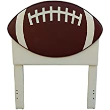 "American Original Football Headboard, Brown, 42.5"" x 52"""
