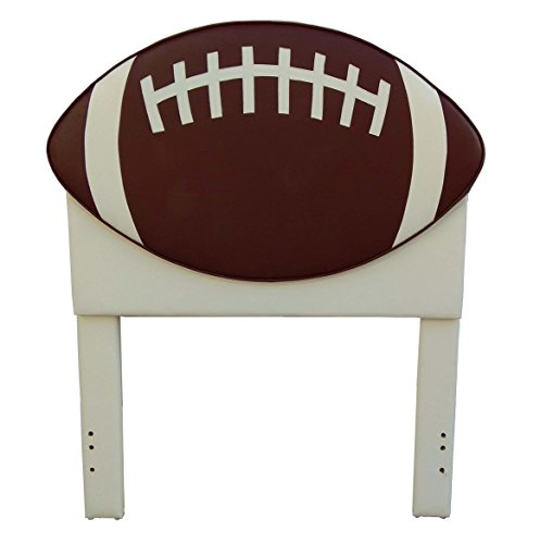 American Original Football Headboard, Brown, 42.5