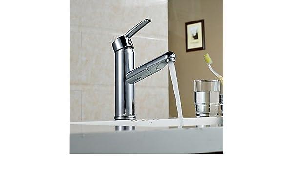 Amazoncom Lyys Bathroom Sink Faucet Contemporary Multi Function