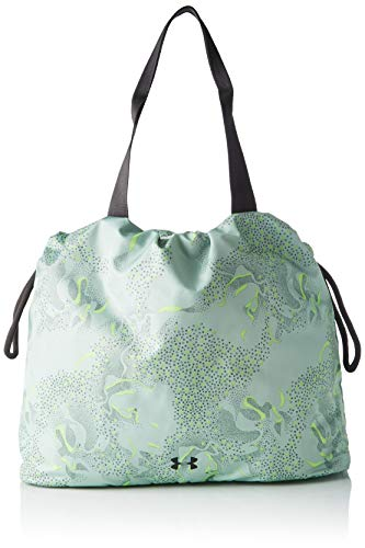 Under Armour Women's Cinch Printed Tote, Atlas Green (189)/Jet Gray, One Size Fits All (Cinch Pack Under Armour)