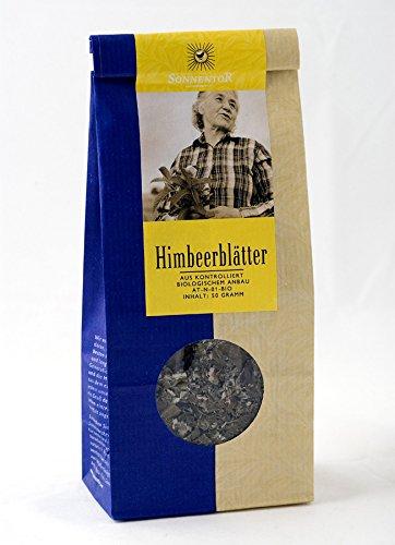 Sonnentor Tee Himbeerblätter lose, 1er Pack (1 x 50 g) - Bio