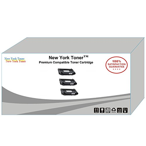 (New York TonerTM New Compatible 3 Pack 6R1218 High Yield Toner for Xerox - FaxCentre F116 | F116L . -- Black)
