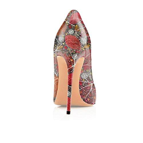Scarpe Eleganti Soireelady Donna Multi Chiuse col da a Tacco Scarpe Scarpe Donna Donna qIIr0Sw