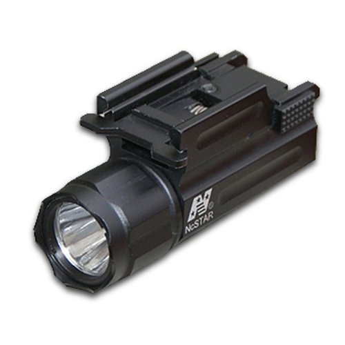 NcStar Pistol and Rifle Led Flashlight/Quick Release Weaver (AQPTF), Outdoor Stuffs
