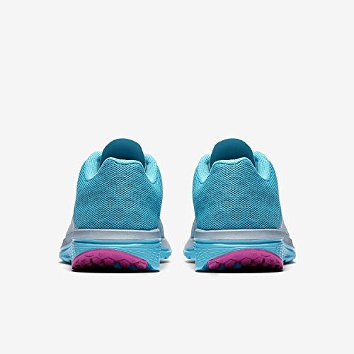 Nike Wmns Nike Fs Lite Run 3 - Zapatillas de running Mujer Azul (Blue Grey / Wht-Gmm Bl-Hypr Vlt)