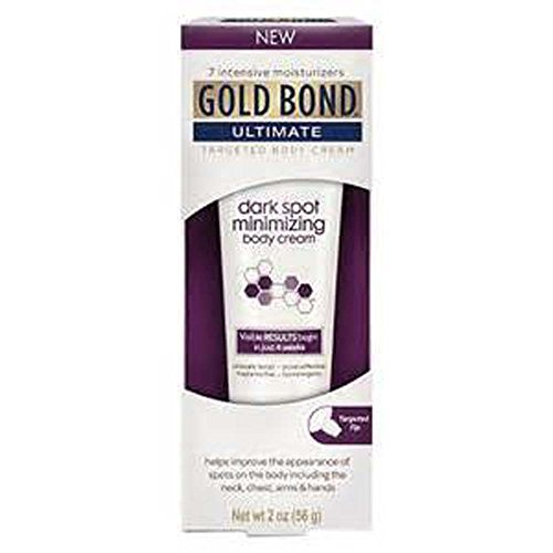 Gold Bond Ultimate Dark Spot Minimizing Body Cream, 2 oz (Pack of 2) (Best Lotion For Age Spots)
