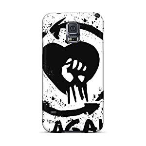 Best Cell-phone Hard Covers For Samsung Galaxy S5 With Provide Private Custom Lifelike Rise Against Skin PhilHolmes