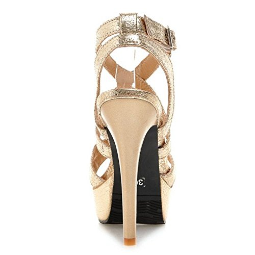 Stiletto Donna Piattaforma Mode 1 Gold Zanpa Sandali n1zaR8
