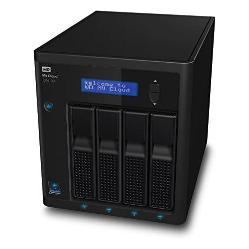 chollos oferta descuentos barato WD My Cloud EX4100 Expert Series Almacenamiento en Red NAS de 24 TB 4 Compartimentos