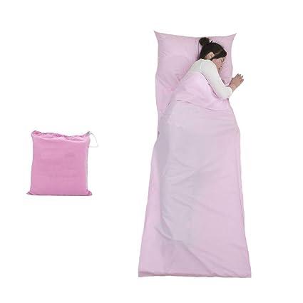 Geekbuzz - Funda para Saco de Dormir con Funda de Almohada, Ligera, portátil,