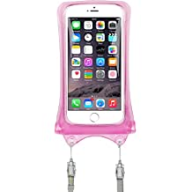 AquaVault 100% Waterproof Floating Phone Case and Money Pouch. Includes Neck Strap, Fits All Phones