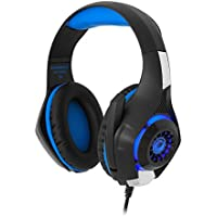 Gamemax 5480, Gaming Kulaklık, Mavi
