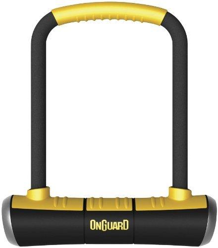 OnGuard 8000 Series Brute STD 16mm U-Lock - Black/Yellow