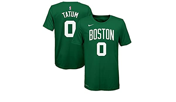 Nike NBA Boston Celtics Jayson Tatum 0 2017 2018 Icon Edition Jersey Official Name & Number, Camiseta de Niño: Amazon.es: Ropa y accesorios