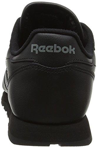 Reebok Classic Leather, Zapatillas de Trail Running Unisex Niños Negro (Black / 1)