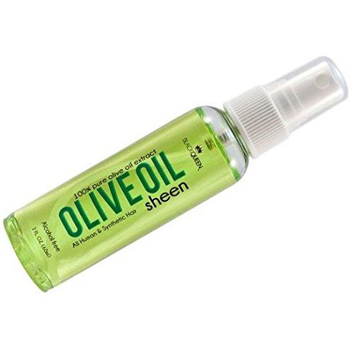 - (PACK OF 6) BLACK QUEEN 100% OLIVE OIL SHEEN (2 OZ)