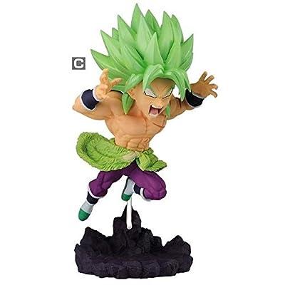 Dragon Ball Super World Collectible Diorama Broly (Super Saiyan) Character Prize Figure Statue Collection Anime Art Vol.4 Banpresto: Toys & Games