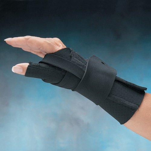 Comfort Cool Arthritis Wrist and Thumb Splint : Comfort Cool Thumb and Wrist Splint, Medium, Right by North Coast Medical