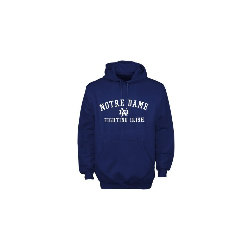 Adidas Notre Dame Fighting Irish Navy Blue Practice Hoody Sweatshirt