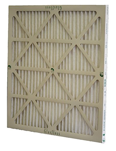 Glasfloss Industries ZLP20251 Z-Line Series ZL MERV 10 Pleated Filter, Case of 12
