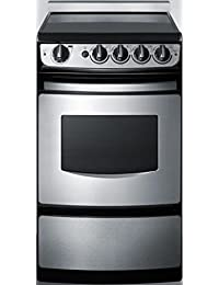 Summit REX207SSRT Kitchen Cooking Range, Stainless-Steel