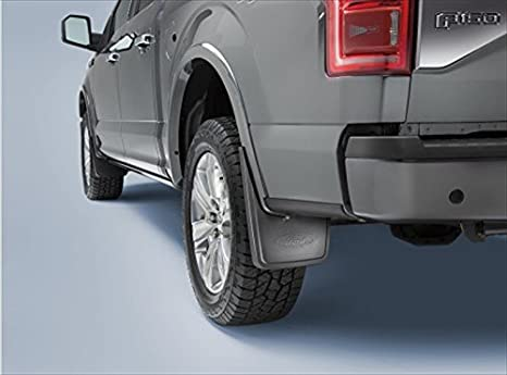 F150 Mud Flaps >> 2015 Ford F150 Front Rear Black Molded Splash Guards Mud Flap With Lip Set Oem