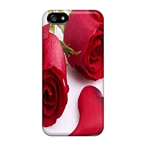 Durable Heart Back Case/cover For Iphone 5/5s