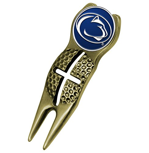 (NCAA Penn State Nittany Lions - Crosshairs Divot Tool - Gold)