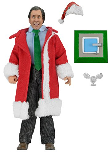 NECA National Lampoon's Christmas Vacation Santa Clark Clothed Figure, 8
