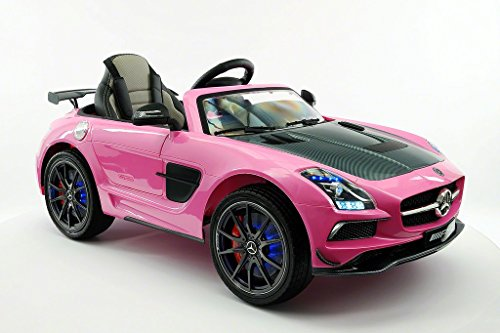 Replica SLS Style Race Car Front Right Pink