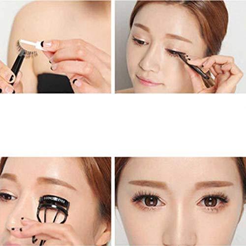 5 Pairs False Eyelashes 3D Mink Natural Messy Volume Fluffy Reusable False Eyelashes
