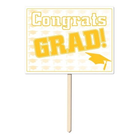 Congrats Grad Yard Sign - 5