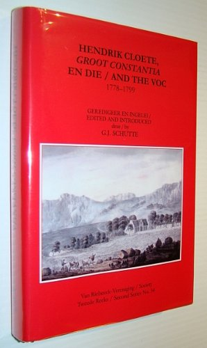The Cape diaries of Lady Anne Barnard, 1799-1800 (Van Riebeeck Society)