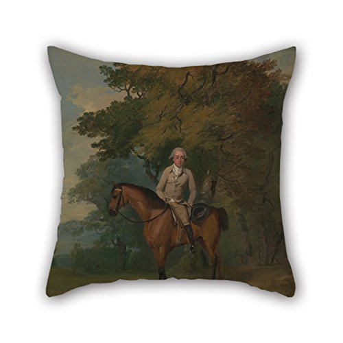 Artistdecor Oil Painting Francis Wheatley - Henry Addington, Later 1st Viscount Sidmouth Throw Pillow Covers ,best For Outdoor,teens Girls,teens,bedding,seat,family 20 X 20 Inches / 50 By 50 Cm(both