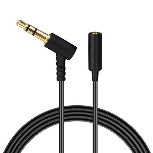 1/4' Headphone Extension Cable - Headphones Extension Cable Cord Line Compatible with for Bose On-Ear Headphones, Earphone, Speakers / 3.5mm Male to Female Replacement Stereo Audio Cable - 20FT