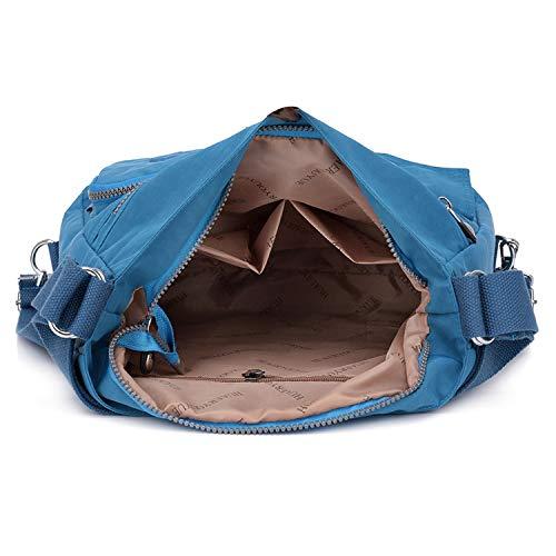 Borse Borsetta Outreo Borsa Viaggio Tasche Per Bag Blu Donna Da One Zaino Tracolla Ragazza Sport Griffate A Sacchetto Spalla Impermeabile Messenger 4qEEwdr