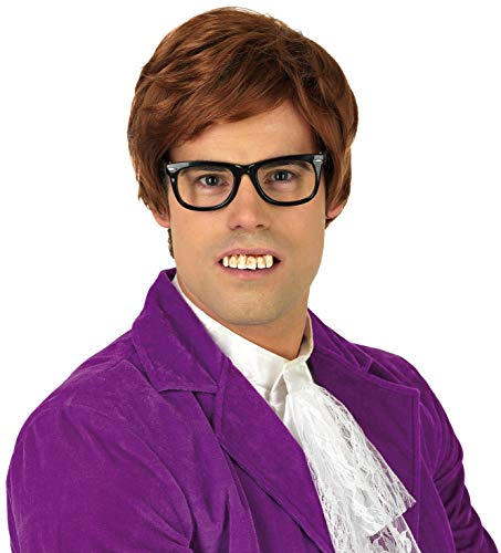 Austin Powers Costumes Amazon - fun shack Men's 60s Gigilo Wig,