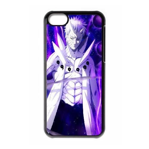 V7E36 l'anime Naruto Tobi uchiha obito cas de téléphone N6M3SM coque iPhone 5c cellulaire couvercle coque noire XD7MJL1NK