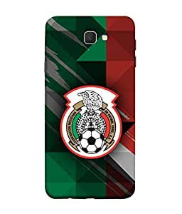 ColorKing Football Mexico 12 Multi Color shell case cover for Samsung J5 Prime