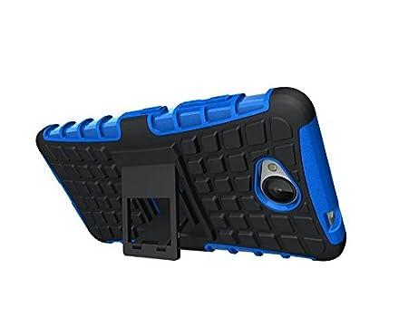 Dooki Lumia 650 H/ülle Zerkl/üftet Kippst/änder Z/äh Hohe Schlag Schwerlast Sto/ßfest Fallschutz Hybrid 2 in 1 Dual Schicht Hart Silikon Gummi Sch/ützend Tasche Schutzh/ülle f/ür Microsoft Lumia 650