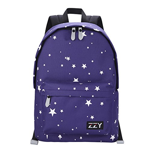 Navy Stars School Backpack
