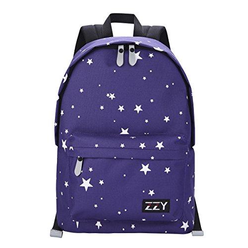 Navy Stars School Backpack