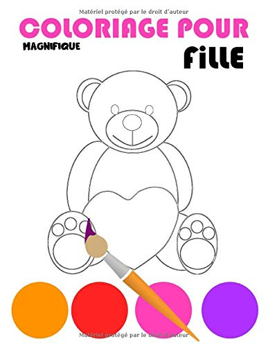 Magnifique Coloriage Pour Fille Livre De Coloriage Pour Les Filles 3 A 8 Ans Coloriages Varies Princesse Cheval Licorne Gateau Bebe Cm Ws Coloriage Fille French Edition Coloriage Fille Ws 9798626634518 Amazon Com Books
