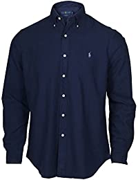 RALPH LAUREN Men Solid Sport Oxford Shirt