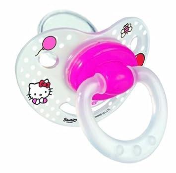 Amazon.com: Tigex Hello Kitty 104610 fisiológicos chupetes ...