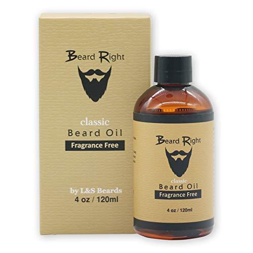 - Beard Conditioner Oil & Softener Fragrance Free Complete Beard Kit with Wooden Beard Comb, All Natural Vitamin E, Jojoba Blendt! (4 Ounce)