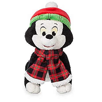 Official Disney Pinocchio 19cm Figaro Share The Magic Christmas Soft Plush Toy